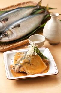 鯖の味噌煮の写真素材 [FYI01425317]