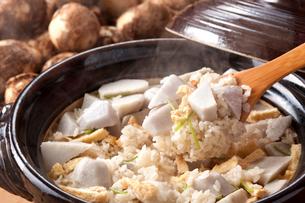 里芋ご飯の写真素材 [FYI01425359]