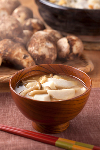 味噌汁(里芋)の写真素材 [FYI01425412]