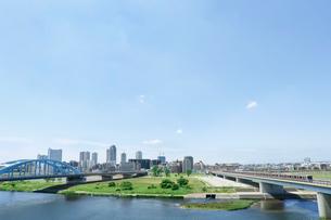 多摩川の写真素材 [FYI01425440]