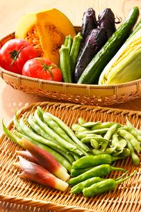 夏野菜の写真素材 [FYI01425465]