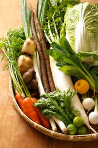 冬野菜の写真素材 [FYI01425543]