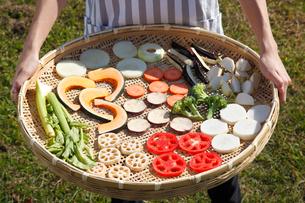 干し野菜の写真素材 [FYI01425658]