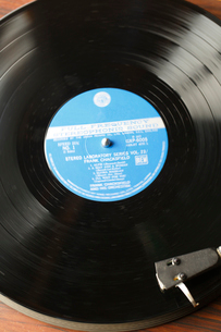LPレコードの写真素材 [FYI01425810]