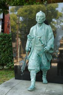 富岡八幡宮内・伊能忠敬像の写真素材 [FYI01425925]