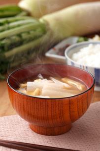 味噌汁(大根)の写真素材 [FYI01425978]