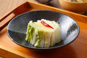 白菜・白菜の漬物の写真素材 [FYI01426180]