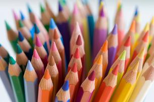 色鉛筆の集合の写真素材 [FYI01426204]