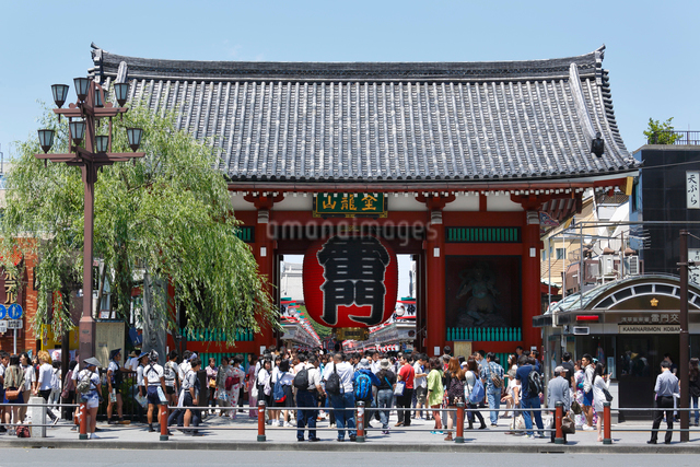 浅草寺雷門の写真素材 [FYI01426266]