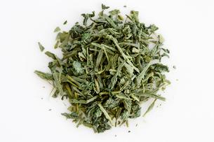 静岡県産青じそ緑茶の写真素材 [FYI01426340]