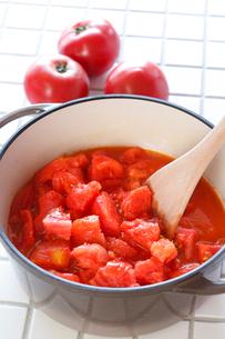 トマトソースの写真素材 [FYI01427257]