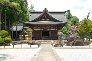 恵林寺開山堂の写真素材 [FYI01427296]