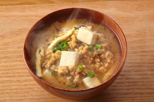 納豆汁・納豆の写真素材 [FYI01427522]
