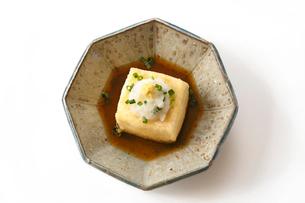 揚げ出し豆腐の写真素材 [FYI01427578]