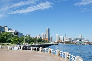 横浜港(山下公園・みなとみらい)の写真素材 [FYI01427641]
