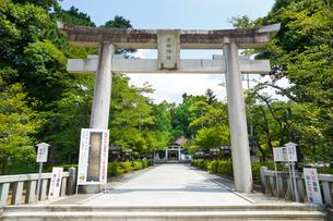 武田神社の写真素材 [FYI01427661]