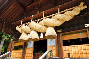諏訪大社下社秋宮・神楽殿の写真素材 [FYI01427692]