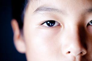 少年の顔の目の写真素材 [FYI01427846]
