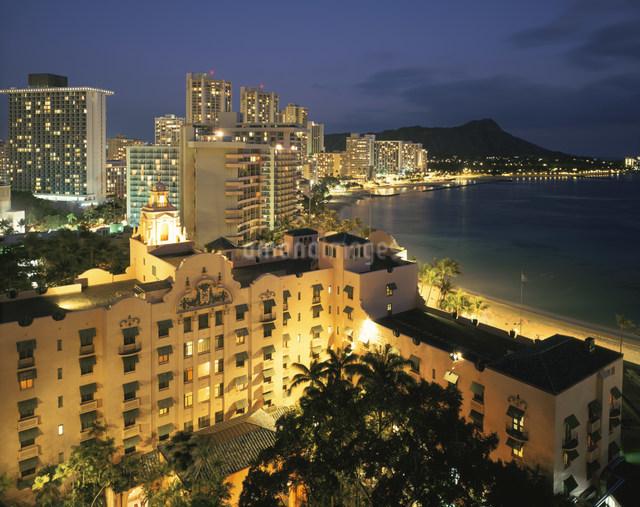 ハワイの風景の写真素材 [FYI01427856]