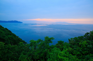播磨灘夕景の写真素材 [FYI01428512]