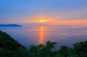 播磨灘夕景の写真素材 [FYI01428642]