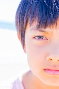 少女の表情の写真素材 [FYI01428714]