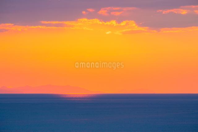 播磨灘夕景の写真素材 [FYI01428723]