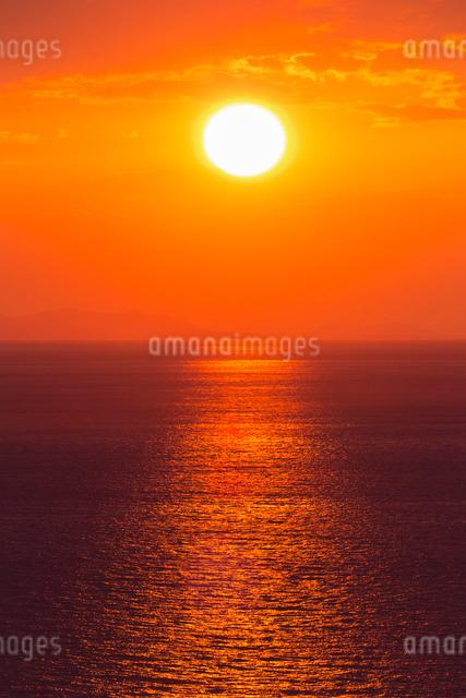 播磨灘夕景の写真素材 [FYI01428743]