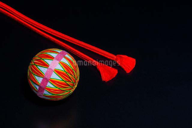 手毬と組紐の写真素材 [FYI01428821]