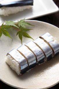 紀州 サンマ寿司の写真素材 [FYI01429281]