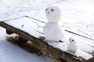 雪だるまの写真素材 [FYI01429495]