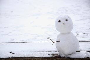雪だるまの写真素材 [FYI01429888]