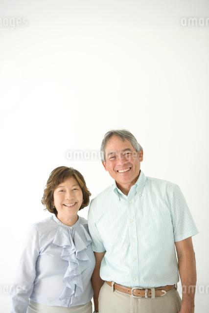 シニア夫婦のポートレートの写真素材 [FYI01430407]