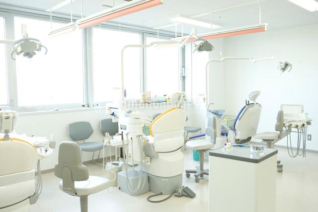 歯科医院のシーンの写真素材 [FYI01430578]