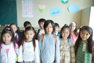 教室の小学生の写真素材 [FYI01431795]