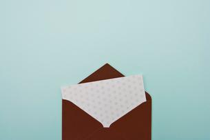 便箋と手紙の写真素材 [FYI01432693]