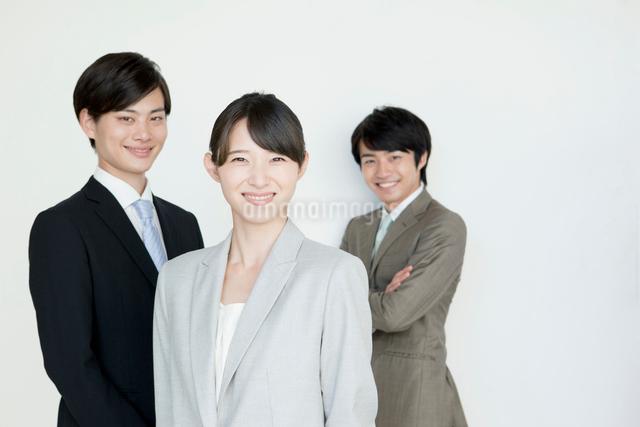 ビジネスマンとビジネスウーマンのポートレートの写真素材 [FYI01435306]