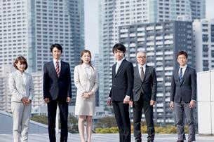 ビジネスチーム6人の写真素材 [FYI01435846]