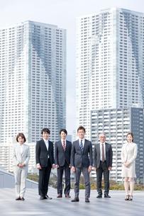 ビジネスチーム6人の写真素材 [FYI01436109]