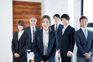ビジネスチーム6名の写真素材 [FYI01436484]