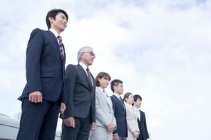 ビジネスチーム6人の写真素材 [FYI01436787]