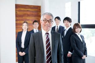 ビジネスチームの写真素材 [FYI01438208]