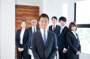 ビジネスチームの写真素材 [FYI01438923]