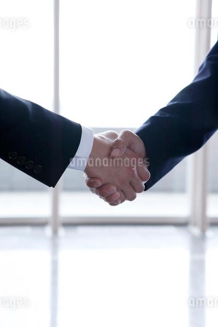 ビジネスマンの握手の写真素材 [FYI01439769]