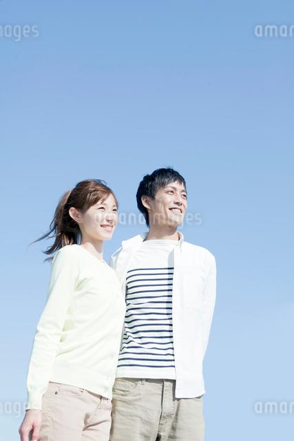 笑顔の夫婦の写真素材 [FYI01439959]