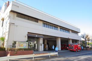 東京消防庁成城消防署の写真素材 [FYI01440337]