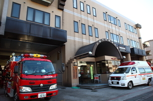 川崎市多摩消防署の写真素材 [FYI01440356]