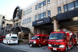 川崎市多摩消防署の写真素材 [FYI01440433]
