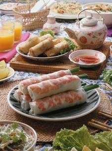 ベトナム料理の集合の写真素材 [FYI01441382]
