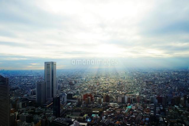 東京都庁舎展望室からの眺望の写真素材 [FYI01441572]